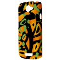 Abstract animal print HTC One S Hardshell Case  View3
