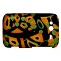 Abstract animal print HTC Wildfire S A510e Hardshell Case View1