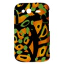 Abstract animal print HTC Wildfire S A510e Hardshell Case View3
