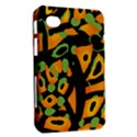Abstract animal print Samsung Galaxy Tab 7  P1000 Hardshell Case  View2