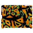 Abstract animal print Apple iPad 3/4 Hardshell Case (Compatible with Smart Cover) View1