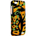 Abstract animal print HTC One V Hardshell Case View2