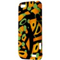 Abstract animal print HTC One V Hardshell Case View3