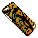 Abstract animal print HTC One V Hardshell Case View5