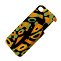 Abstract animal print Apple iPhone 4/4S Premium Hardshell Case View4