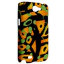 Abstract animal print Samsung Galaxy Note 2 Hardshell Case View2