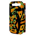Abstract animal print Samsung Galaxy S III Hardshell Case (PC+Silicone) View3