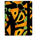 Abstract animal print Kindle Fire (1st Gen) Flip Case View2