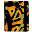 Abstract animal print Apple iPad Mini Flip Case View2