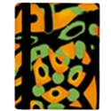 Abstract animal print Apple iPad Mini Flip Case View3