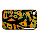 Abstract animal print Apple iPhone 3G/3GS Hardshell Case (PC+Silicone) View1