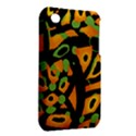 Abstract animal print Apple iPhone 3G/3GS Hardshell Case (PC+Silicone) View2