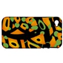 Abstract animal print Apple iPhone 4/4S Hardshell Case (PC+Silicone) View1