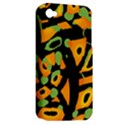 Abstract animal print Apple iPhone 4/4S Hardshell Case (PC+Silicone) View2