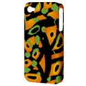 Abstract animal print Apple iPhone 4/4S Hardshell Case (PC+Silicone) View3