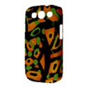 Abstract animal print Samsung Galaxy S III Classic Hardshell Case (PC+Silicone) View3