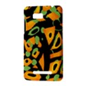 Abstract animal print HTC One SU T528W Hardshell Case View3