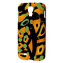 Abstract animal print Samsung Galaxy S4 I9500/I9505 Hardshell Case View3