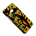 Abstract animal print HTC One M7 Hardshell Case View5