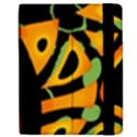Abstract animal print Samsung Galaxy Tab 7  P1000 Flip Case View2