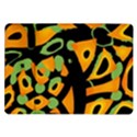 Abstract animal print Samsung Galaxy Tab 10.1  P7500 Flip Case View1