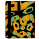 Abstract animal print Samsung Galaxy Tab 10.1  P7500 Flip Case View2