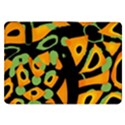 Abstract animal print Samsung Galaxy Tab 8.9  P7300 Flip Case View1