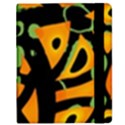 Abstract animal print Samsung Galaxy Tab 8.9  P7300 Flip Case View2