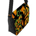Abstract animal print Flap Messenger Bag (S) View2