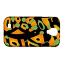 Abstract animal print Samsung Galaxy S4 Classic Hardshell Case (PC+Silicone) View1