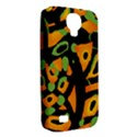 Abstract animal print Samsung Galaxy S4 Classic Hardshell Case (PC+Silicone) View2