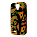 Abstract animal print Samsung Galaxy S4 Classic Hardshell Case (PC+Silicone) View3
