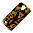 Abstract animal print Samsung Galaxy S4 Classic Hardshell Case (PC+Silicone) View4