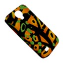 Abstract animal print Samsung Galaxy S4 Classic Hardshell Case (PC+Silicone) View5