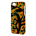Abstract animal print Apple iPhone 5C Hardshell Case View3