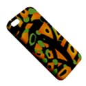Abstract animal print iPhone 5S/ SE Premium Hardshell Case View5