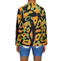 Abstract animal print Kids  Long Sleeve Swimwear View2