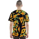 Abstract animal print Men s Sport Mesh Tee View2