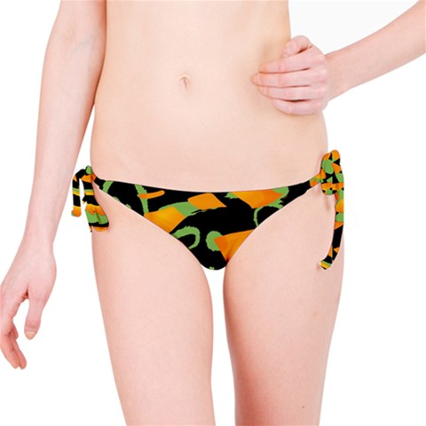 Abstract animal print Bikini Bottom