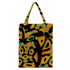 Abstract animal print Classic Tote Bag