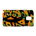 Abstract animal print Samsung Galaxy Note 4 Hardshell Case View1
