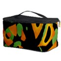 Abstract animal print Cosmetic Storage Case View3