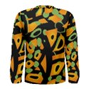 Abstract animal print Men s Long Sleeve Tee View2