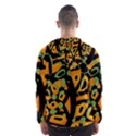 Abstract animal print Hooded Wind Breaker (Men) View2