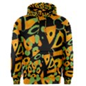 Abstract animal print Men s Pullover Hoodie View1
