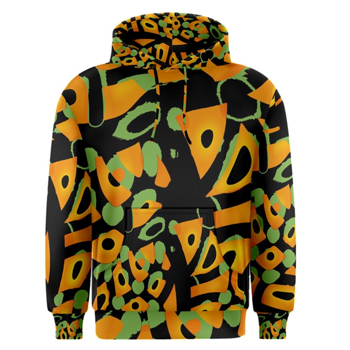 Abstract animal print Men s Pullover Hoodie