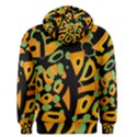 Abstract animal print Men s Pullover Hoodie View2