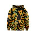 Abstract animal print Kids  Pullover Hoodie View1
