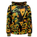 Abstract animal print Women s Pullover Hoodie View1