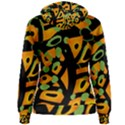 Abstract animal print Women s Pullover Hoodie View2